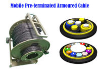 PDLC ODC ODVA  Fiber Optic Armoured Cable Remote Radio Head cell Tower 7.0mm BBU RRU Non-metal