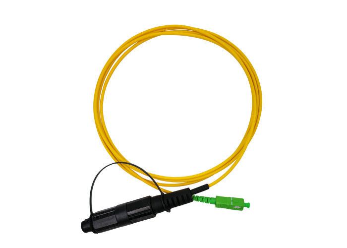 SM Duplex Fiber Patch Cord LC To LC SC To LC Water Resistant IP68 For Corning External