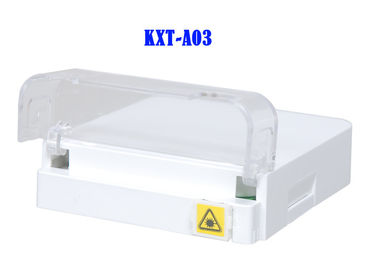 Flip-Cover Splitter Fiber Optic Distribution Box G657A2 FTTH Termination Box ABS Ognioodporne